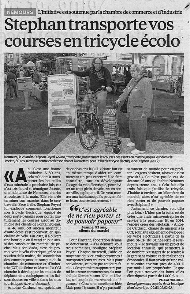 La cci de seine et marne et la ville de nemours uvrent - Chambre de commerce et d industrie de seine et marne ...