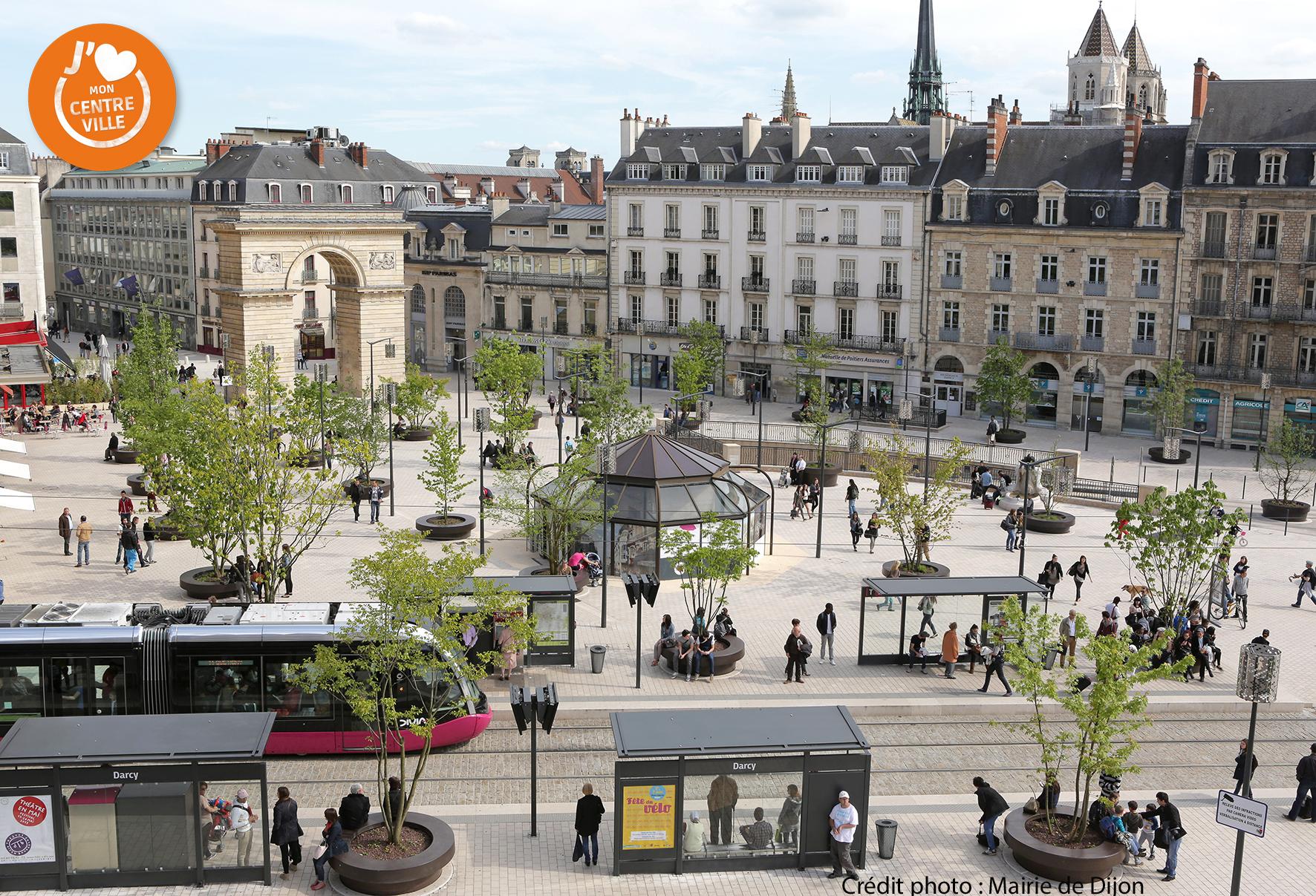 Dijon redynamise son centre ville avec shop in dijon for Dijon architecture