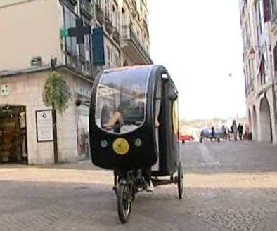 bayonne : des tricycles électriques pour les livraisons dans le