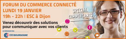 Logo forum commerce connecté Dijon