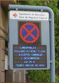 panneau barcelone