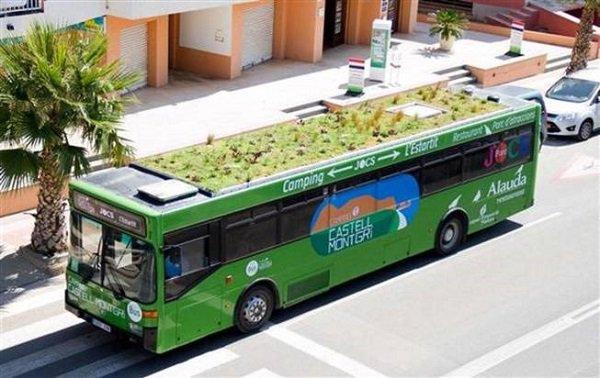 photo bus vegetalise